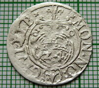 POLAND ELBING SWEDISH Gustav II Adolf 1630 POLTORAK - 3/2 GROSCH - 1/24 THALER