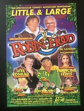 More details for 5 flyers, john inman, lewis collins, pantomime, theatre royal, hanley 80s-90s