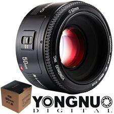 ✅Yongnuo YN 50mm F/1.8 AF / MF EF Festbrennweite Objektiv für Canon Kamera DE✅