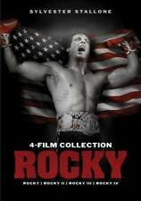 ROCKY Collection: I, II, III & IV - DVD 4-Film Set - BRAND NEW