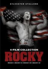 ROCKY Collection: I, II, III & IV - DVD 4-Film Set - BRAND NEW