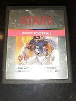 RealSports Football (Atari 2600, 1982) *BUY 2 GET 1 FREE +FREE SHIPPING*