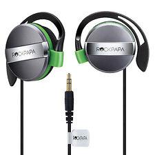 RockPapa On Ear Ear-Pad Headphones Earphones for Boys Girls Kids Childs Green