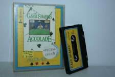 CARD SHARKS ACCOLADE GIOCO USATO BUONO COMMODORE 64 EDIZIONE INGLESE FR1 54908