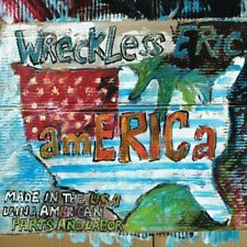 WRECKLESS ERIC-AMERICA (Orange Vinyle EDITION) VINYL LP + mp3 NEUF