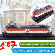 🌟 1:87 Urban Rail Trolley Class EP-2 (1919) Static Display 3D Locomotive  #.