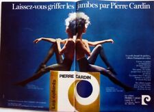 * CARDIN PANTYHOSES => 2 pages 1971 vintage FRENCH print ad CLIPPING !! HOSIERY