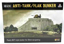Bolt Action 842010001 Anti-Tank/Flak Bunker R677 WWII Terrain Warlord Games NIB