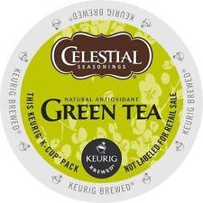 Celestial Seasonings K-Cup Portion Tea for Keurig Brewers - Green Tea, 24 Ct