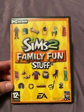 Die Sims 2 Family Fun Stuff Expansion Pack Videospiel-PC CD-ROM mit Handbuch