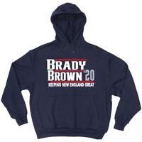 Tom Brady Antonio Brown New England Patriots 2020 HOODED SWEATSHIRT