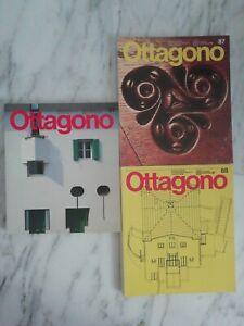 Lotto n. 3 riviste OTTAGONO 1987/88