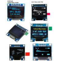 "3-5V 0.96"" IIC I2C SPI Serial 128X64 OLED LCD LED Display Module For Arduino"