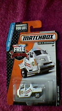 "Matchbox (US Card) - 2015 - #2 Meter Made - White ""Police"" - ""Heroic"" Card"