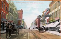 London, Ontario, Canada 1910 Postcard: Dundas Street / Downtown - Ont.