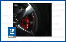 Pontiac Solstice GXP Brake Caliper Decals - set stickers break rotor ALL YEARS