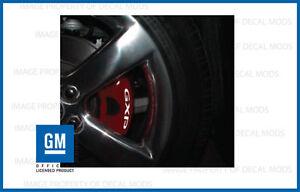 Pontiac Solstice GXP Brake Caliper Decals - set stickers break rotor