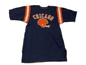 Vintage Chicago Football Jersey Blue Orange Bears Style 70s 80s