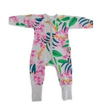 BONDS  ZIP WONDERSUIT   Exotica Floricca   BNWT SZ 3  (E42)