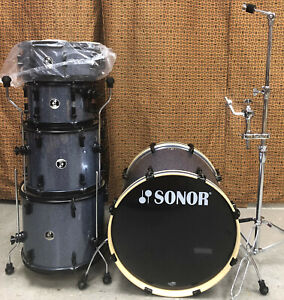 Sonor Force SSE Rock 22 Shell Pack - Black Galaxy Sparkle