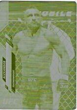 ALEXANDER VOLKANOVSKI #1/1 2020 Topps UFC PRINTING PLATE Yellow