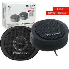 Pioneer TS-S20 20mm High-Power 200W Titanium Coated Component Dome Tweeter 1 Set
