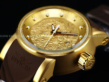 NEW Invicta Mens S1 Yakuza Crystal Eye Dragon Automatic 18K Gold Ion P. SS Watch