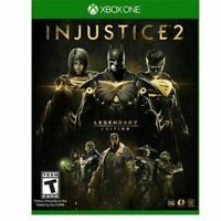 Injustice 2 Legendary Edition (Xbox One, 2018) BRAND NEW FACTORY SEALED