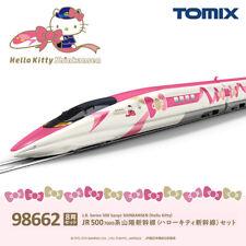 PSL TOMIX N Gage JR 500 7000 Series Hello Kitty Shinkansen 8-Car Set 98662 Model