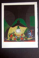 PABLO PICASSO  - Linoleo original 1966 - Edition Harry. h. Abrams