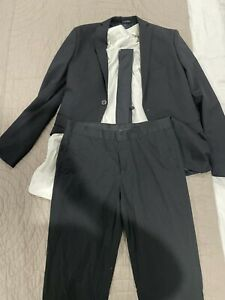 Zara suit with shirt, tie , blazer and two more pairs of pants !