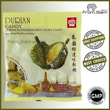 DURIAN Fruit Soft Chewy CANDY Sweet Sweetmeats Lollipops - 110g (3.88oz)