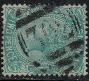 Tasmania numeral '302' of Snake Plains on 2d sideface. Quite rare and rated RR