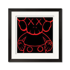 Skull and Crossbones Companion Urban Street Graffiti Poster Print