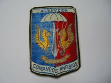 ARGENTINA 1990s Marine Commando Parachutist Group, cloth patch