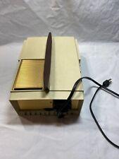 1950s Mid Century Modern REALIST 620 Slide Projector Model 3101 David White  M5