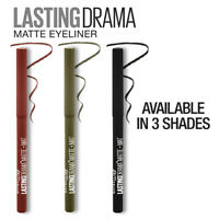 Maybelline Lasting Drama Matte Automatic Pencil Eyeliner ~ Choose Shade