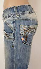 Pepe Jeans London * Jeans Hüfthose * Nieten * Detailverliebt * W26 - Gr 34