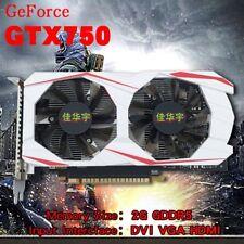 GTX750Ti 2GB GDDR5 128Bit Graphics Card PCI-E VGA DVI HDMI For NVIDIA GeForce WW