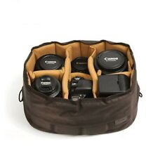 CIESTA Flexible Large Camera DSLR SLR Lens Insert Partiton Padded Case Bag N_o