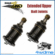 Pair Toyota Prado 120 150 Series 4WD Roadsafe Extended Upper Ball Joints