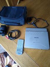 "Philips PET700 Portable DVD Player (7"") bundle"