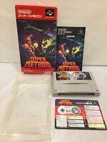 EXC++ Super Metroid SFC Super Famicom SNES NTSC-J JAPAN CIB Tested works