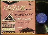 Walton Facade Suite - Constant Lambert / Elgar Wand of Youth- Malcolm Sargent LP