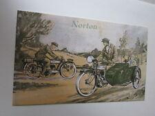 Motorrad Archiv Edition Faksimile1037$E Norton Prospekt 1923