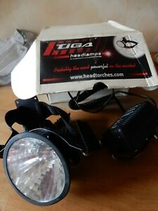 Tiga SL12 Headlamp, Charger, Lamp, Belt and carry case for battery, No Battery,
