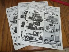 1985 GMC Five Star General Vs. Freightliner Sales Flyer - Vintage - 3