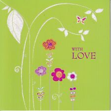 Papyrus Mothers Day Card Nip (Msrp $4.95) With Love Card (P23)