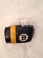 Boston Bruins Game on Glove Shot Glass with Holder . NHL Hockey NEW 2 oz. drink