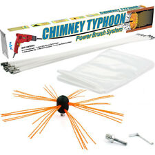 Chimney Sweep Power sweeping Chimney Brush DIY set flexible Chimney Typhoon™